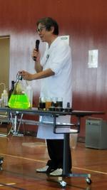 写真:理科実験教室1