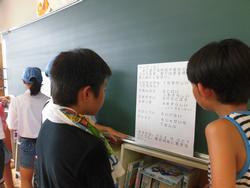 写真:男鹿市・春日井市児童交流学習6